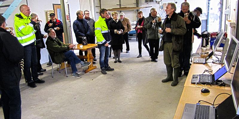Mats berättar hur Fiskevårdsteknik har arbetat med projektet