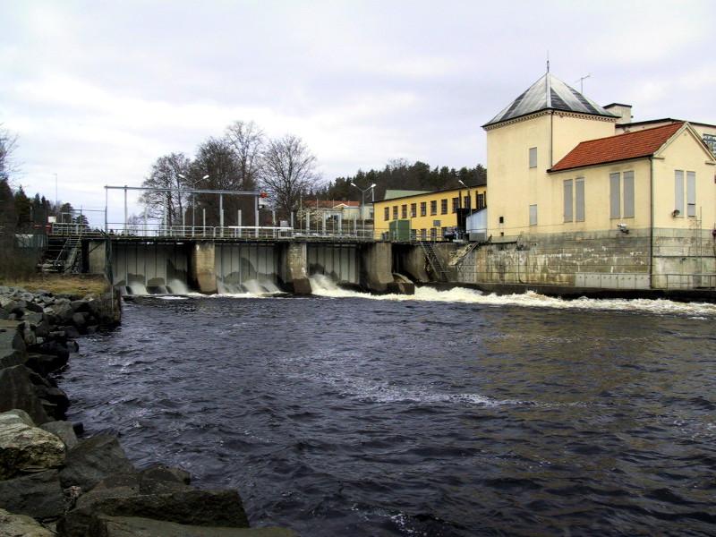 Marieberg kraftverk i Mörrumsån